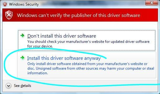 Device driver software for morpho